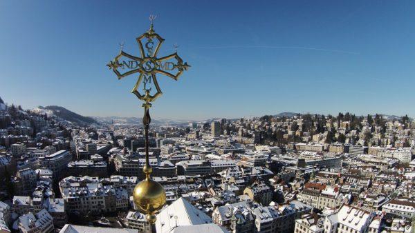 Über den Dächern von St. Gallen